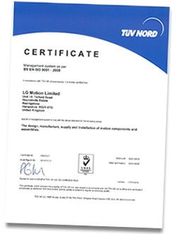 ISO9001 Certified Manufacturer
